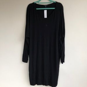 NWT Eileen Fisher Jersey Slouch Long Sleeve Dress
